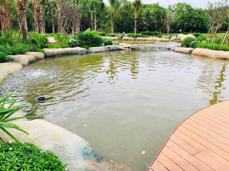 Hình ảnh thi công biệt thự Saigon Garden Quận 9