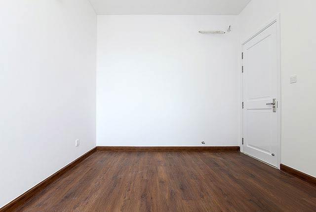 Hoàn thành lát sàn gỗ phòng ngủ căn hộ block Northern