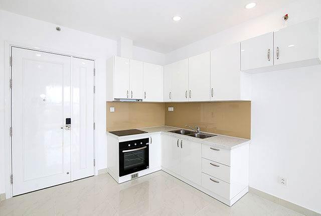 Hoàn thành lắp đặt thiết bị bếp căn hộ block Southern