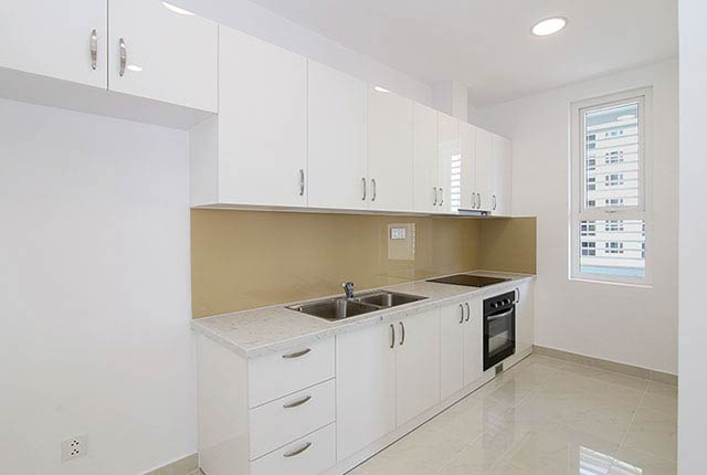 Hoàn thành lắp đặt thiết bị bếp căn hộ block Central