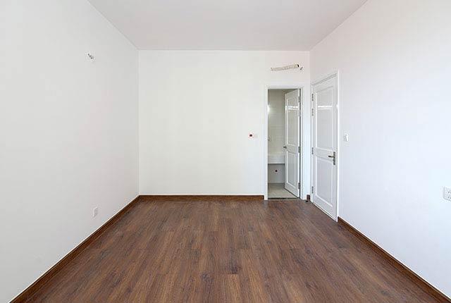 Hoàn thành lát sàn gỗ phòng ngủ căn hộ block Central