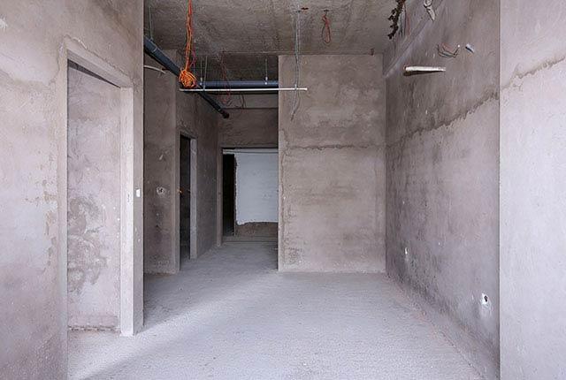 Công tác thi công tô tường căn hộ tầng 20 block A