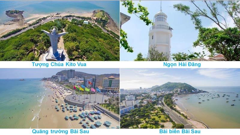 Địa điểm du lịch nổi tiếng tại Tp Vũng Tàu