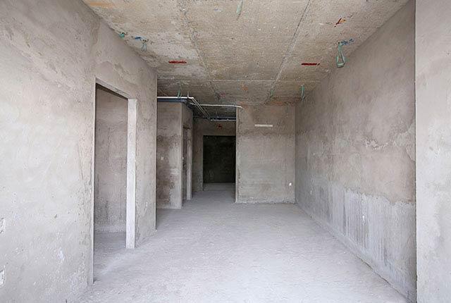 Tô tường bao căn hộ từ tầng 6 đến tầng 12 block Lucky, tầng 6 đến tầng 10 block Riches