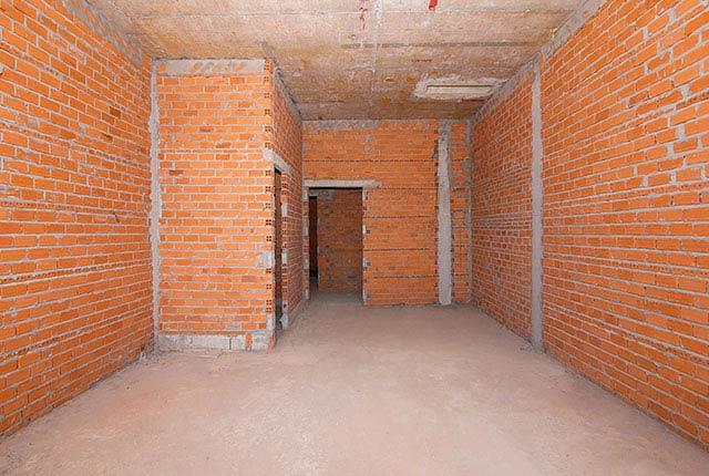 Xây tường bao căn hộ tầng 5 - 22 block A1