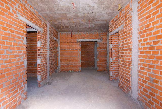 Xây tường bao căn hộ tầng 5 - 11 block B1