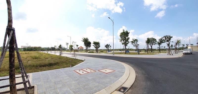 Hình ảnh cơ sở hạ tầng sắp bàn giao Ba Ria City Gate