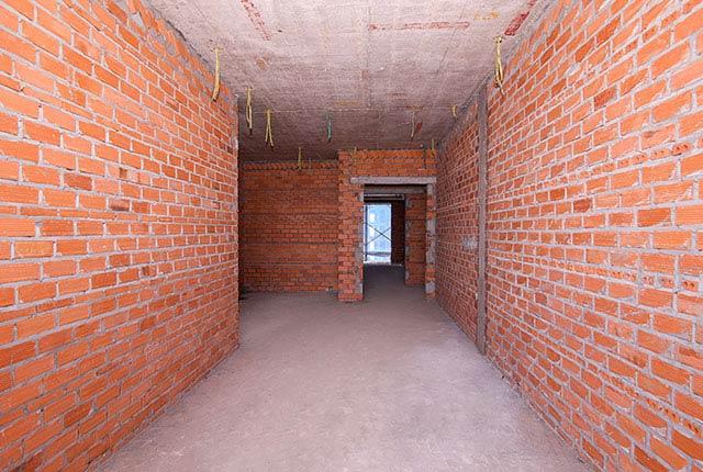 Tiếp tục xây tường bao căn hộ tầng 5 - 22 block A1