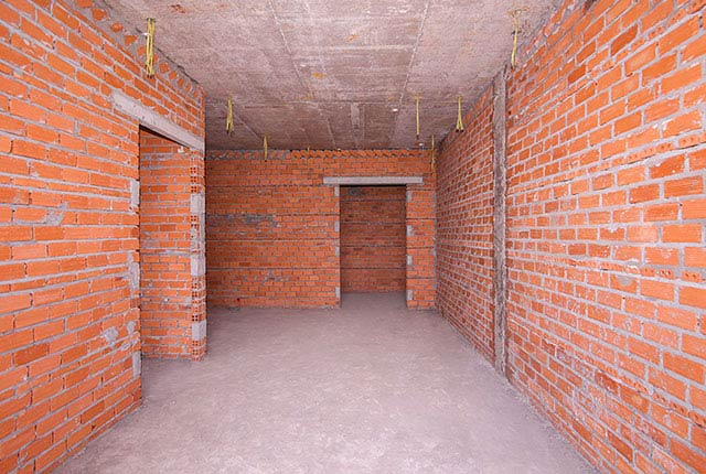Xây tường bao căn hộ tầng 5 - 16 block B1