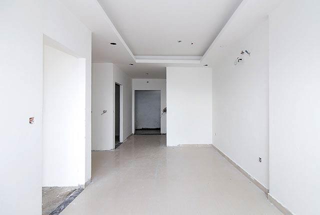 Bả sơn matit căn hộ tầng 20 block A