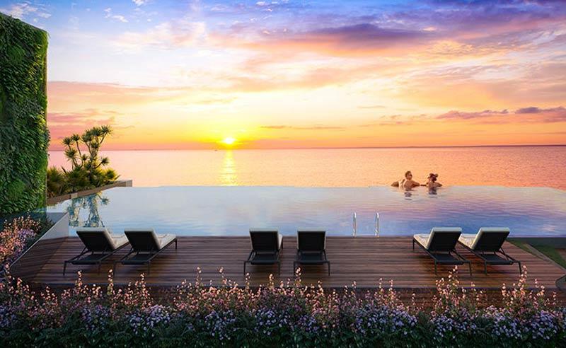 Hồ bơi SKy View Vũng Tàu Pearl