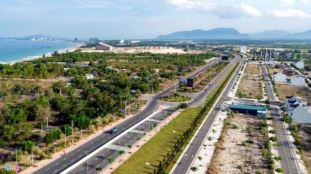 Cơ sở hạ tầng - Trục đường Nguyễn Tất Thành