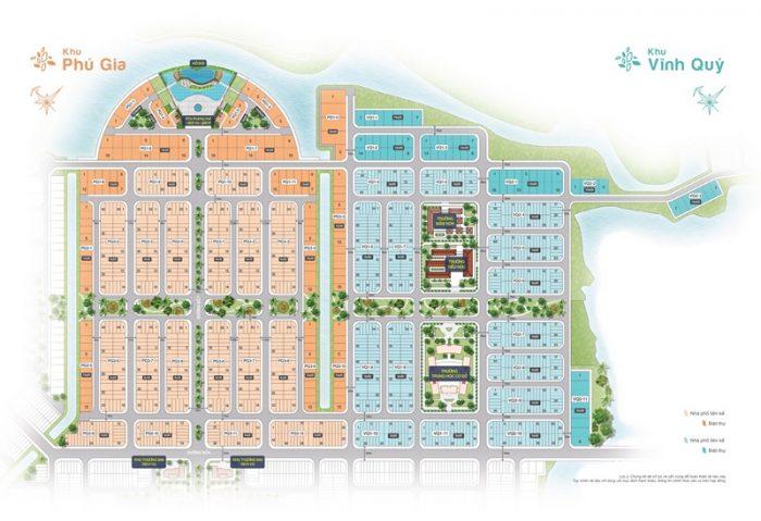 Mặt bằng chi tiết đất nền Biên Hòa New City