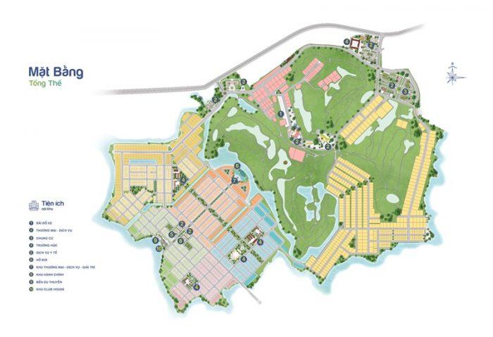 Mặt bằng tổng thể Biên Hòa New City