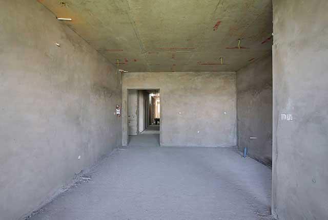 Thi công tô tường căn hộ tầng 20 - 22 block B1