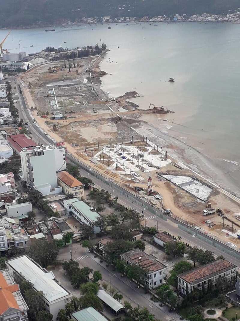 Hình ảnh dự án lấn biển Mũi Tấn Quy Nhơn