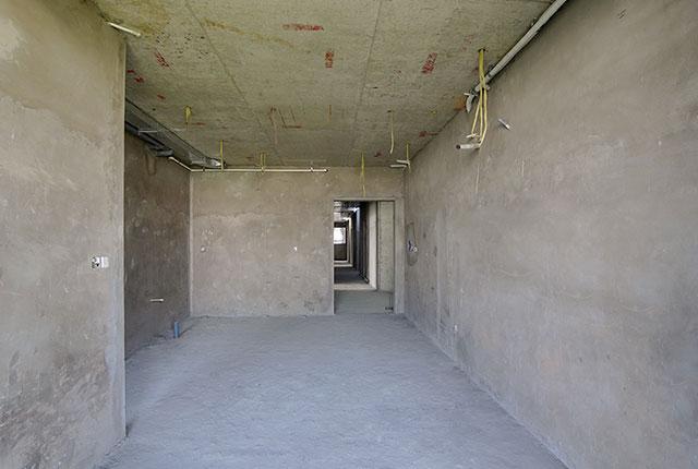 Thi công tô tường căn hộ tầng 11 - 22 block B1