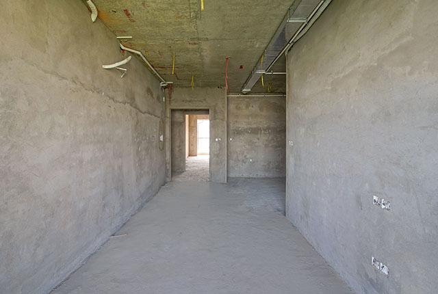 Thi công tô tường căn hộ tầng 11 - 22 block B2