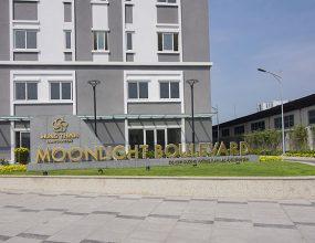Hình ảnh tổng quan mặt ngoài khu căn hộ Moonlight Boulevard