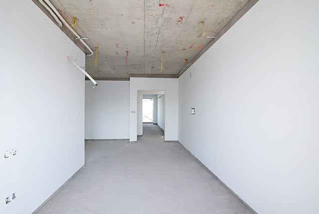Thi công bả sơn matit căn hộ tầng 21 - 22 block B1