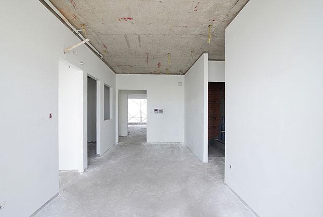 Thi công bả sơn matit căn hộ tầng 21 - 22 block B2