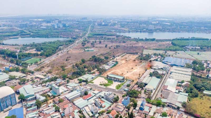Hình ảnh thực tế căn hộ Hưng Thịnh tại Làng Đại học