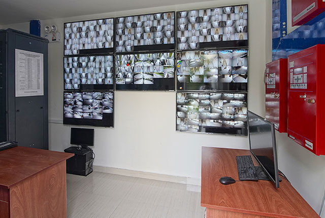 Hình ảnh Phòng giám sát anh ninh đã đi vào hoạt động