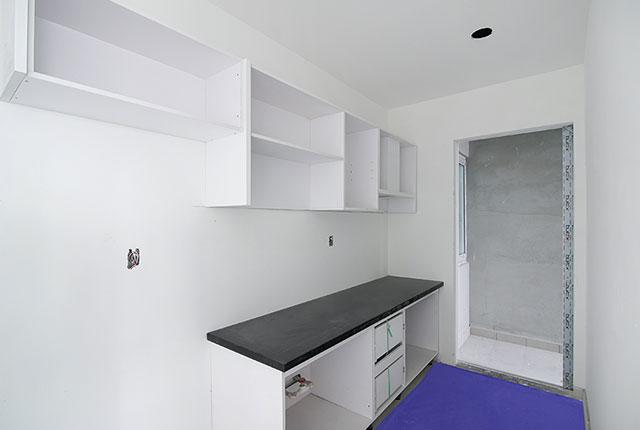Lắp đặt tủ bếp từ tầng 6 đến tầng 23 block Lucky và tầng 6 đến tầng 24 block Riches