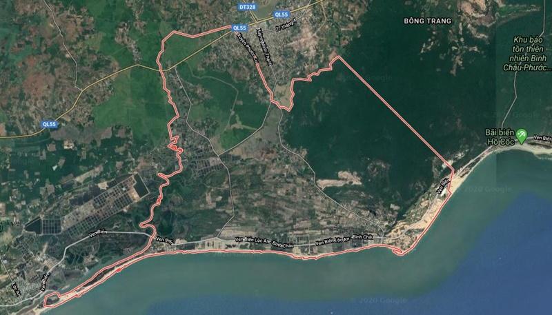 Quy hoạch đô thị Hồ Tràm, huyện Xuyên Mộc