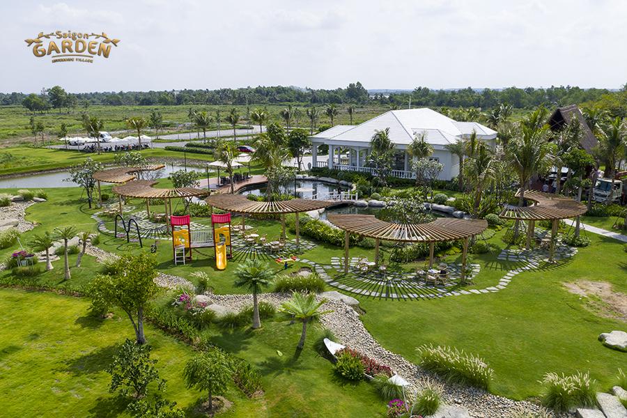 Hình ảnh thực tế dự án Saigon Garden Riverside tháng 5/2020