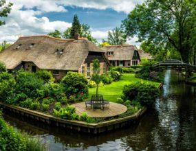 Khu làng Giethoorn Hà Lan