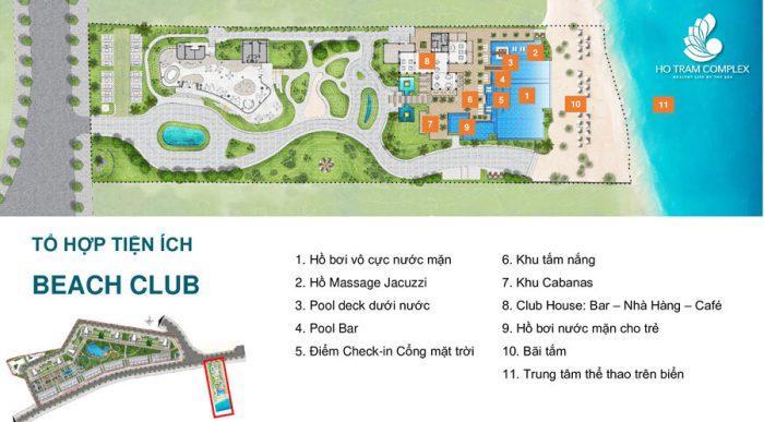 Tổ hợp tiện ích khu du lịch Hồ Tràm Complex
