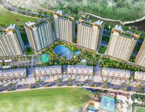 Phối cảnh dự án Hồ Tràm Complex