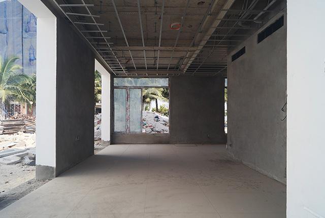 Công tác thi công khung xương trần thạch cao căn biệt thự khu A
