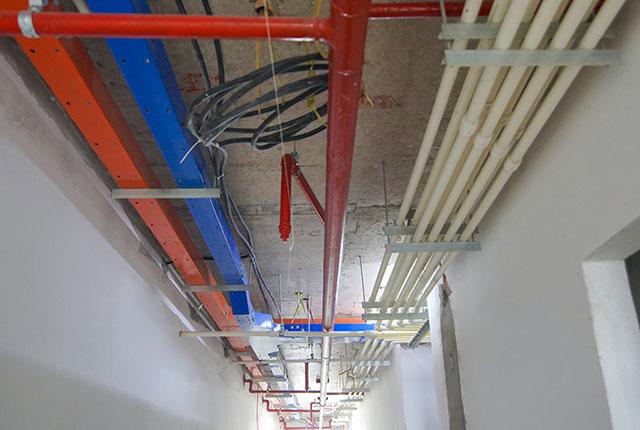 Thi công hệ thống M&E tầng 12 - 21 block B1