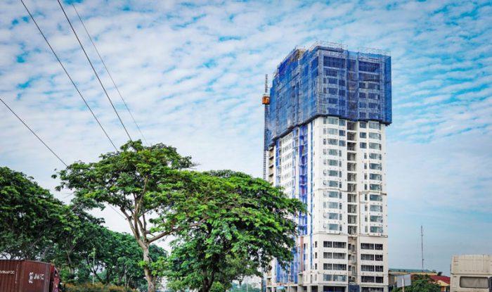Một căn hộ chất lượng nữa tại quận 7 do Hòa Bình xây dựng