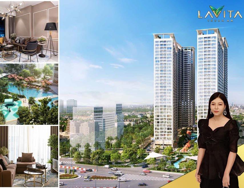 Giá 1,9 tỷ/căn 1pn 51m2 căn hộ Lavita Thuận An , Bình Dương chiết khấu đến 18%